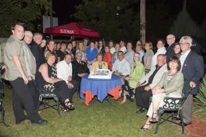 L'équipe lors du 10e anniversaire de RMO